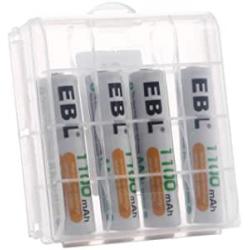 Chollo - EBL 1100mAh AAA 1.2V Blíster 4 Pilas recargables | LN-8122
