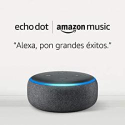 Chollo - Echo Dot (3º generación) + 1 mes gratis de Amazon Music Unlimited