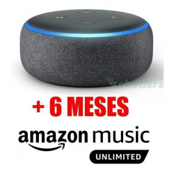Chollo - Echo Dot (3º generación) + 6 meses gratis de Amazon Music Unlimited