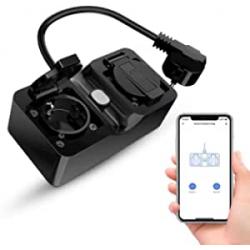 Chollo - Enchufe doble inteligente Refoss RSS620 WiFi IP44