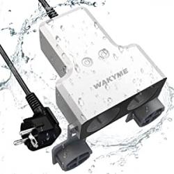 Chollo - Enchufe doble inteligente WAKYME WiFi IP44