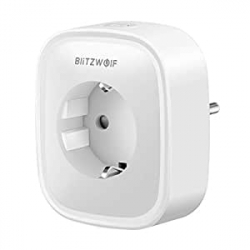 Chollo - Enchufe inteligente BlitzWolf BW-SHP2 WiFi compatible con Alexa