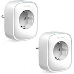 Chollo - Enchufes inteligentes Teckin WiFi 16A 3680W Pack 2x | SP22-2