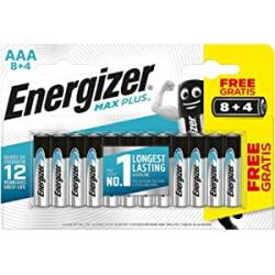 Chollo - Energizer Max Plus AAA LR03 12 Pilas alcalinas | E301322800