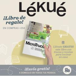 Chollo - Envío gratis + Libro de regalo en Lékué