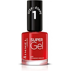 Chollo - Esmalte de Uñas Rimmel London Super Gel Flamenco beach by Kate Moss