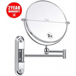 Chollo - Espejo de Baño con Brazo Articulado Homever