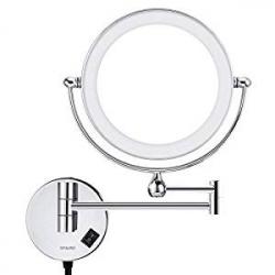 Espejo de Pared Articulado Spaire Doble Cara 1X/5X LED