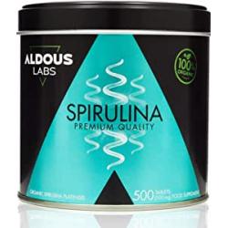 Chollo - Espirulina Ecológica 500 Comprimidos Aldous Labs