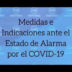 Chollo - Estado de Alarma COVID-19 y Prórroga (BOE, medidas, aclaraciones y consultas)