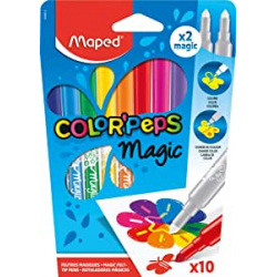 Chollo - Pack 10 Rotuladores Mágicos Maped Color'Peps Magic