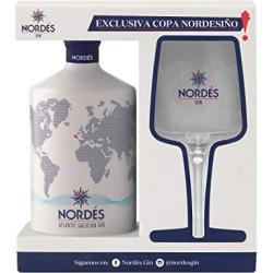 Chollo - Estuche Ginebra premium nacional Nordés + Copa Nordesiño - T1800175