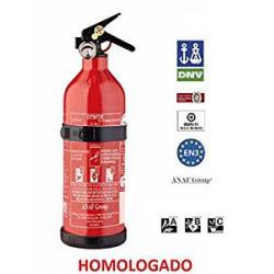 Extintor Homologado 1Kg Casa o Coche