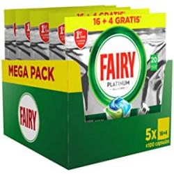 Chollo - Fairy Platinum All in One Pastillas Lavavajillas Megapack 100 Cápsulas