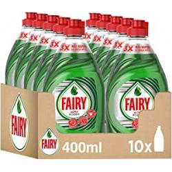 Chollo - Fairy Ultra Poder con LiftAction Lavavajillas Pack 10x 400ml