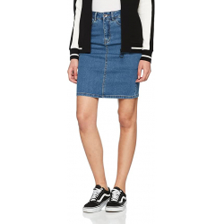 Chollo - Falda Vero Moda Vmhot Nine Hight Waist Denim Pencil Skirt Mix Noos