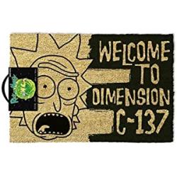 Chollo - Felpudo Rick & Morty Dimension C-137 (40x60cm)