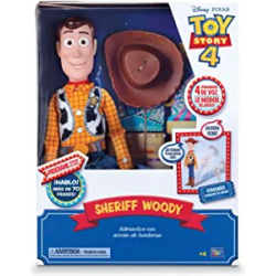 Chollo - Figura articulada Woody Interactivo Toy Story 4 - Bizak 61234431