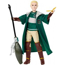 Chollo - Figura Draco Malfoy Quidditch Harry Potter - Mattel GDJ71