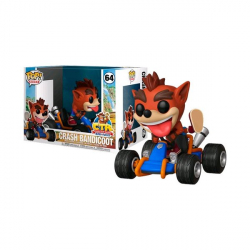 Chollo - Figura Pop Crash Team Racing Nitro-Fueled: Crash Bandicoot en Kart (64-40950)