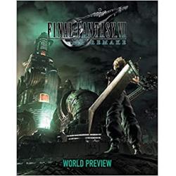 Chollo - Final Fantasy Vii Remake: World Preview Tapa dura (inglés)