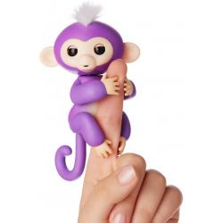 Chollo - Fingerlings Monito interactivo Mia morado   WowWee 3704