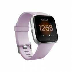 Chollo - Fitbit Versa Lite Lila/ Silver Aluminum Smartwatch | FB415SRLV