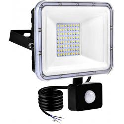 Chollo - Foco LED Tycolit con sensor de movimiento 50W 5000lm