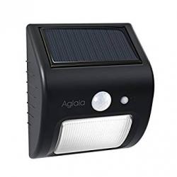 Chollo - Foco LED Solar Aglaia LT-W17 con Sensor de Movimiento y Crepuscular