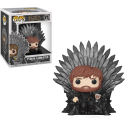 Chollo - Funko Pop Juego de Tronos Deluxe Tyrion Sitting on Iron Throne (37404)