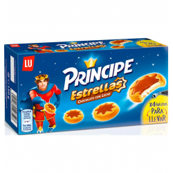 Chollo - Galletas rellenas LU Principe Estrellas Chocolate con Leche 150 g
