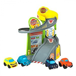 Chollo - Garaje Motor Town My Car Station con 4 coches