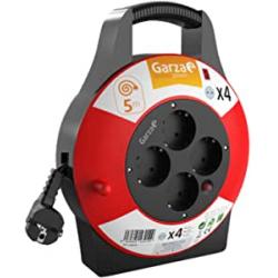 Chollo - Garza Power Enrollacables doméstico 4 Tomas 5m | 430012
