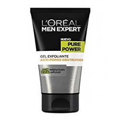 Gel Exfoliante L'Oréal Paris Men Expert Pure Power