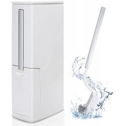Chollo - Gemitto Slimline Cubo de basura para baño + Escobilla | GEMITTODRACAENAS2090