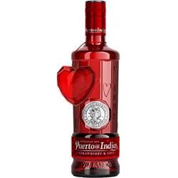 Chollo - Gin Puerto de Indias Strawberry Edición limitada San Valentín Ginebra 70cl