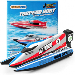 Chollo - GizmoVine Torpedo Boat Lancha de carreras teledirigida RC 2.4G | 4022