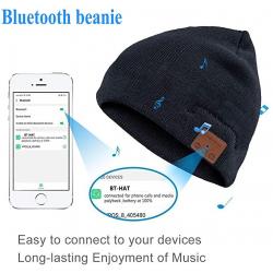 Chollo - Gorro con auriculares Lukasa Bluetooth 5.0