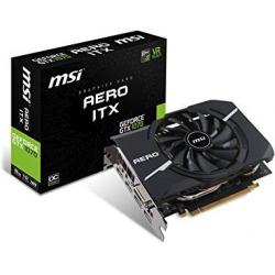 Gráfica MSI GeForce GTX 1070 AERO ITX OC 8GB GDDR5