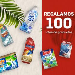 Chollo - Gratis 100 Lotes de Productos Henkel
