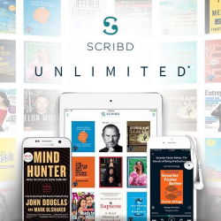 Gratis 2 Meses de Scrib Unlimited