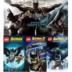 Chollo - Gratis 2 Trilogías de Juegos para PC: Batman Arkham Collection y LEGO Batman