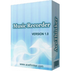 Chollo - Gratis AceThinker Music Recorder para Windows  (Licencia personal - 1 año)