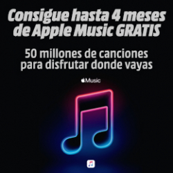 Chollo - Gratis Apple Music (hasta 4 meses)