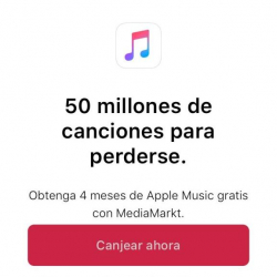 Chollo - Gratis Apple Music (4 meses)