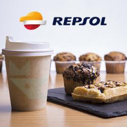 Chollo - Gratis Café y Bollo para profesionales en Repsol