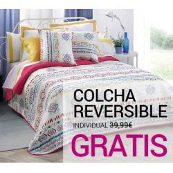 Chollo - Gratis Colcha Reversible Individual con cualquier pedido en Venca