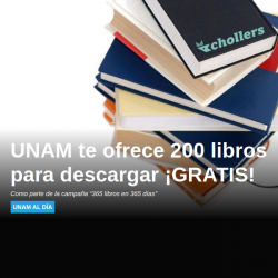 Chollo - Gratis Descarga 200 Libros de Literatura Clásica y Contemporánea (campaña UNAM)