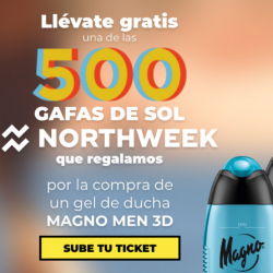 Chollo - Gratis Gafas de Sol Nortweek al comprar Gel Magno Men 3D