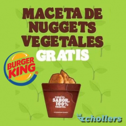 Chollo - Gratis maceta de Nuggets vegetales en Burguer King